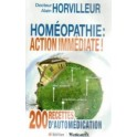 Homéopathie : ACTION IMMEDIATE !