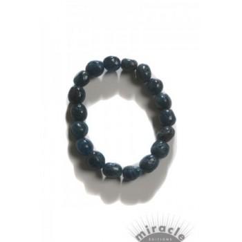 Apatite bleue, bracelet