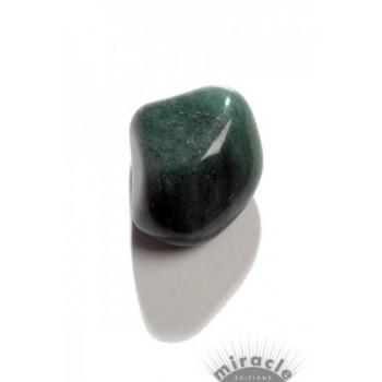Aventurine verte, pierre roulée
