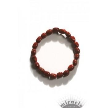 Jaspe rouge, bracelet