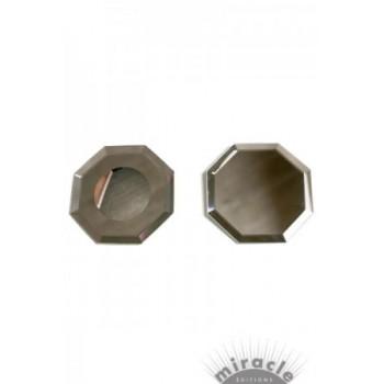 Paire de miroirs plats 75 mm